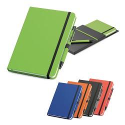Coffret stylo à bille et bloc-notes A5. SHAW